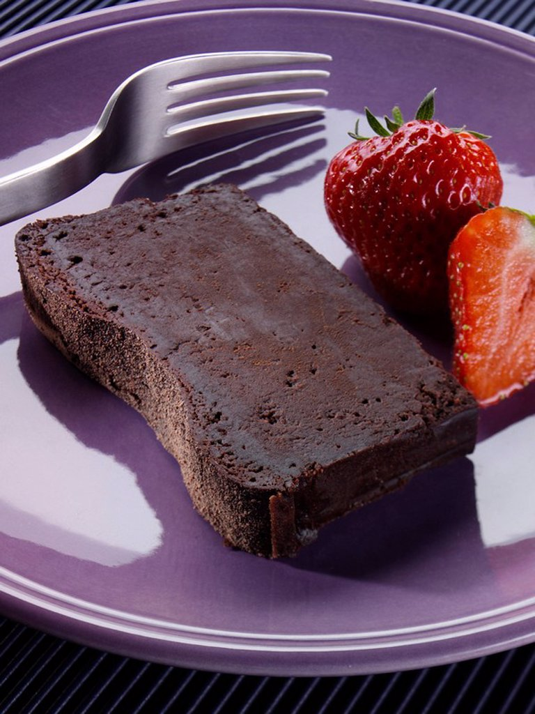 Chocolate Terrine : Stock Photo