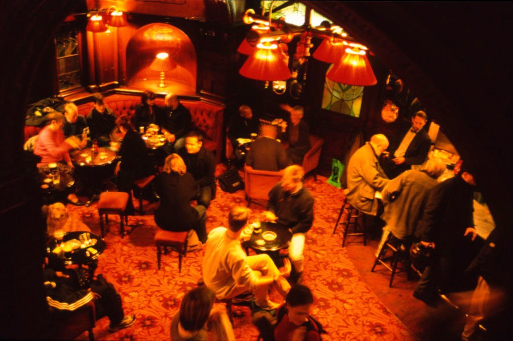 Stock Photo: 1898-3680 The saloon bar