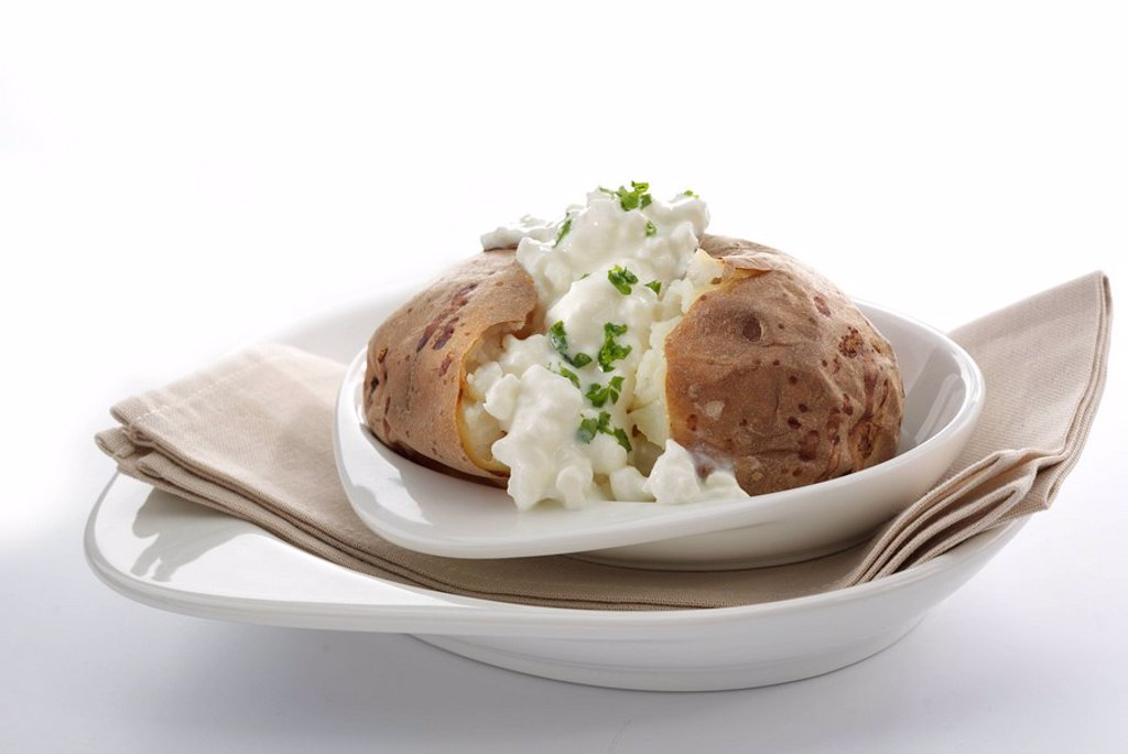 Baked Potato : Stock Photo