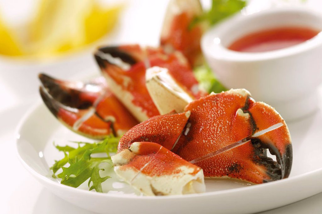 Stock Photo: 1898-3975 Crab claws