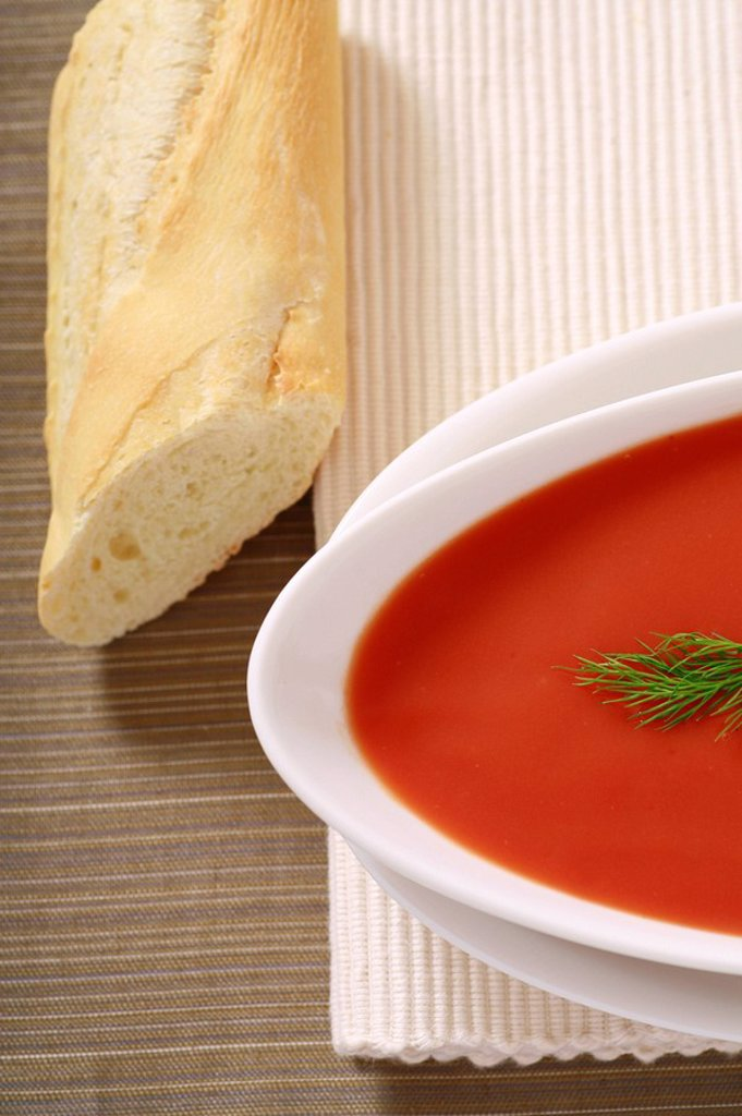 Tomato Soup : Stock Photo