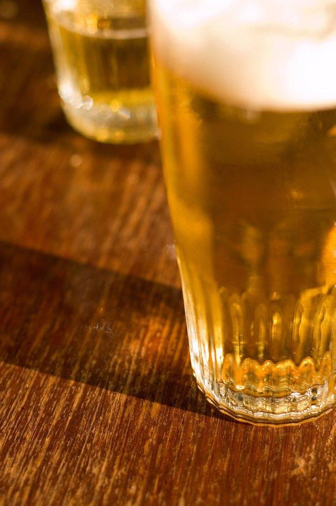 Stock Photo: 1898-4230 Draft Beer