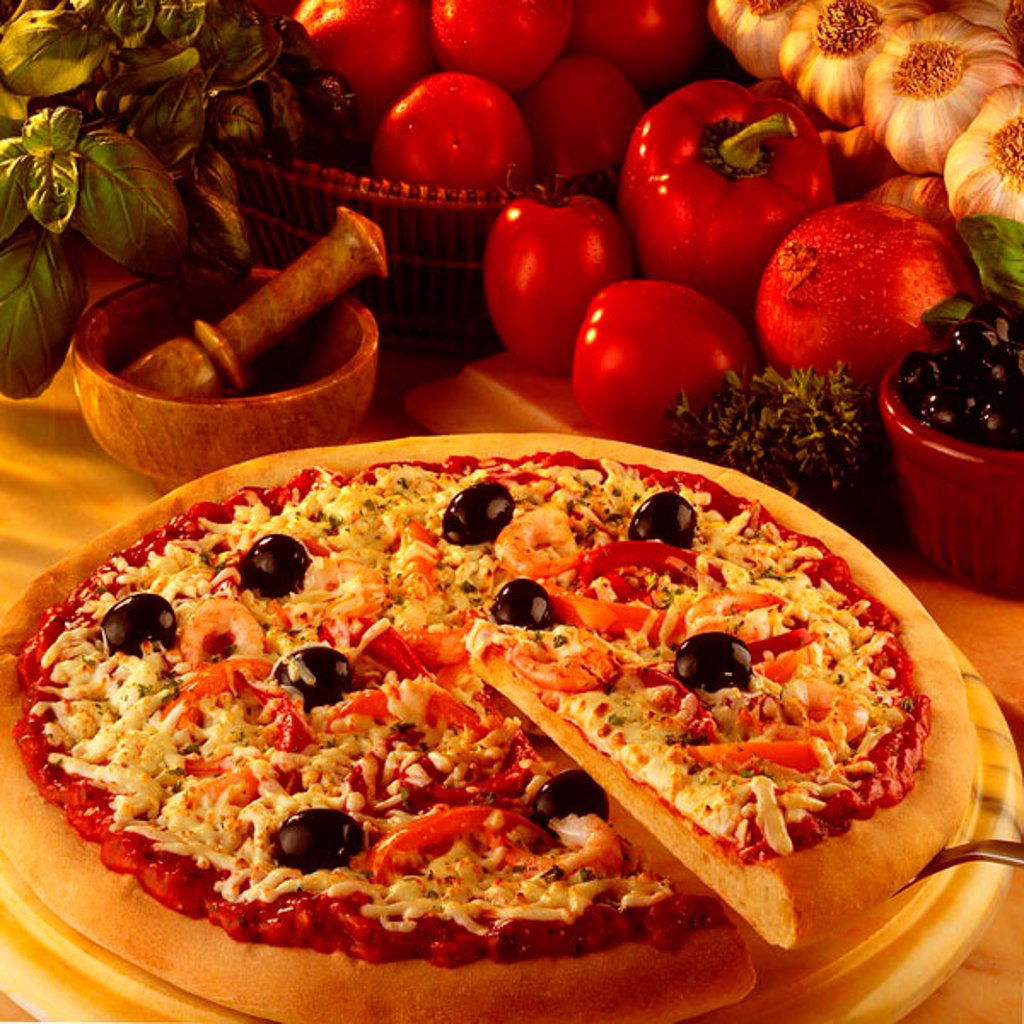 Stock Photo: 1898-4551 Pizza