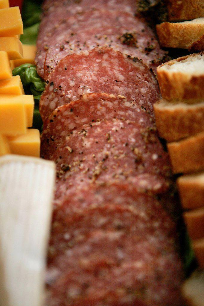 Stock Photo: 1898-47323 Pork Salami