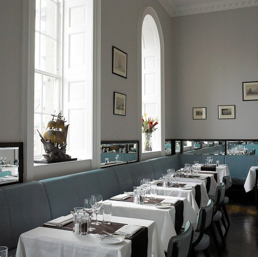 The Admiralty Restaurant in London : Stock Photo