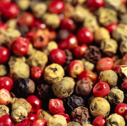 Mixed Peppercorns : Stock Photo
