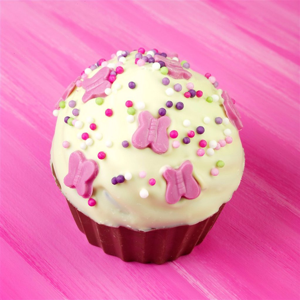 Easter Fairy Cake _ Giant Cup cake : Stock Photo