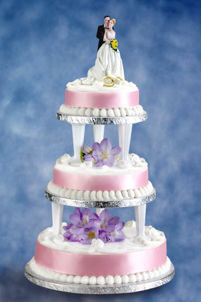 Stock Photo: 1898-5114 Wedding cake