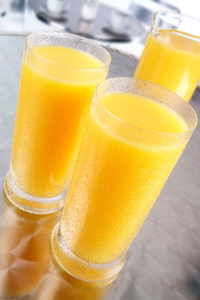 Stock Photo: 1898-5202 Orange juice