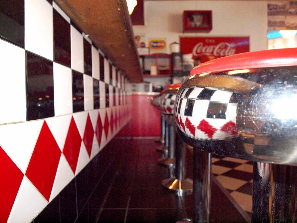 Stock Photo: 1898-53376 Vintage Diner