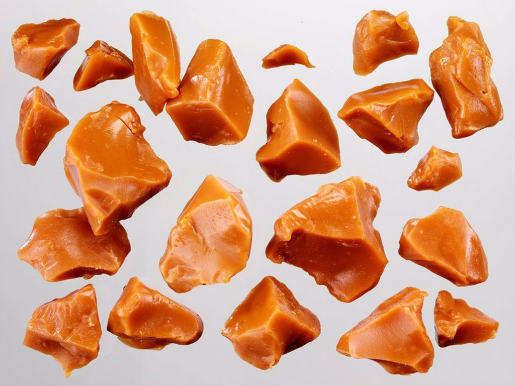 TOFFEE PIECES : Stock Photo