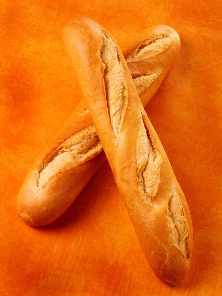 Stock Photo: 1898-6271 FRENCH BREAD BAGUETTE