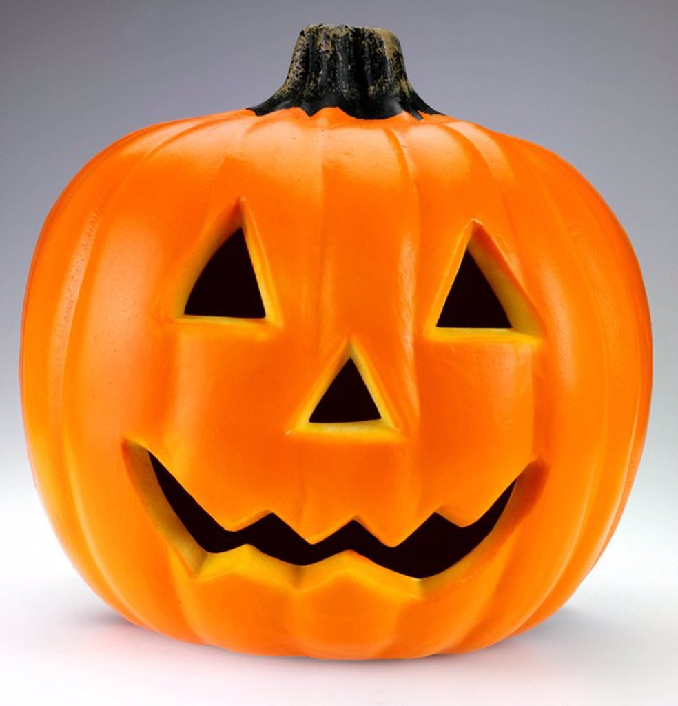 Stock Photo: 1898-6804 HALLOWEEN PUMPKIN