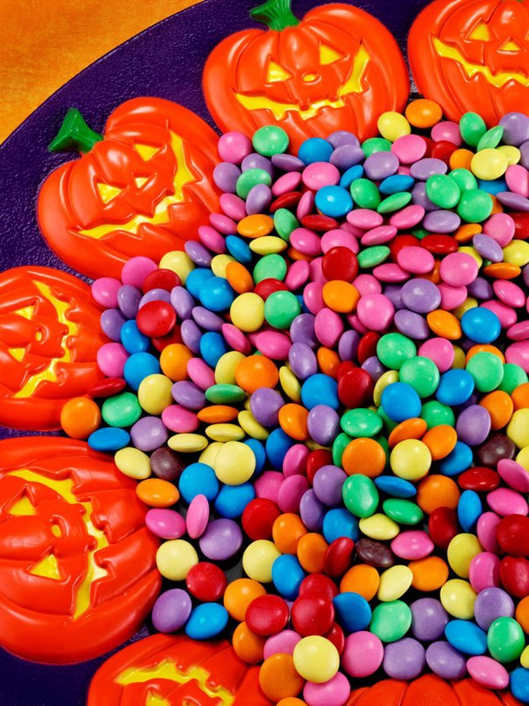 HALLOWEEN SWEETS / CANDY : Stock Photo