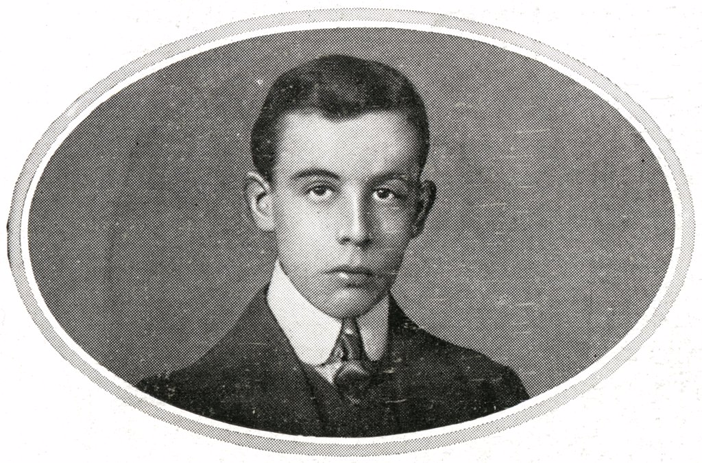 Stock Photo: 1899-13847 Mr Bride. Passengers on RMS Titanic. Photograph of Mr Bride, the young wireless operator who assisted Phillips, the Chief Operator, during the crisis. Mr Bride, like most of the operators on board ships, was quite young. He apparently assisted Phillips very efficiently during the critical hours on the Titanic. Titanic was built by Harland & Wolff in Belfast Ireland during 1910 - 1911 and later sank on April 15th, 1912 off the coast of New Foundland after striking an iceberg during her maiden voy
