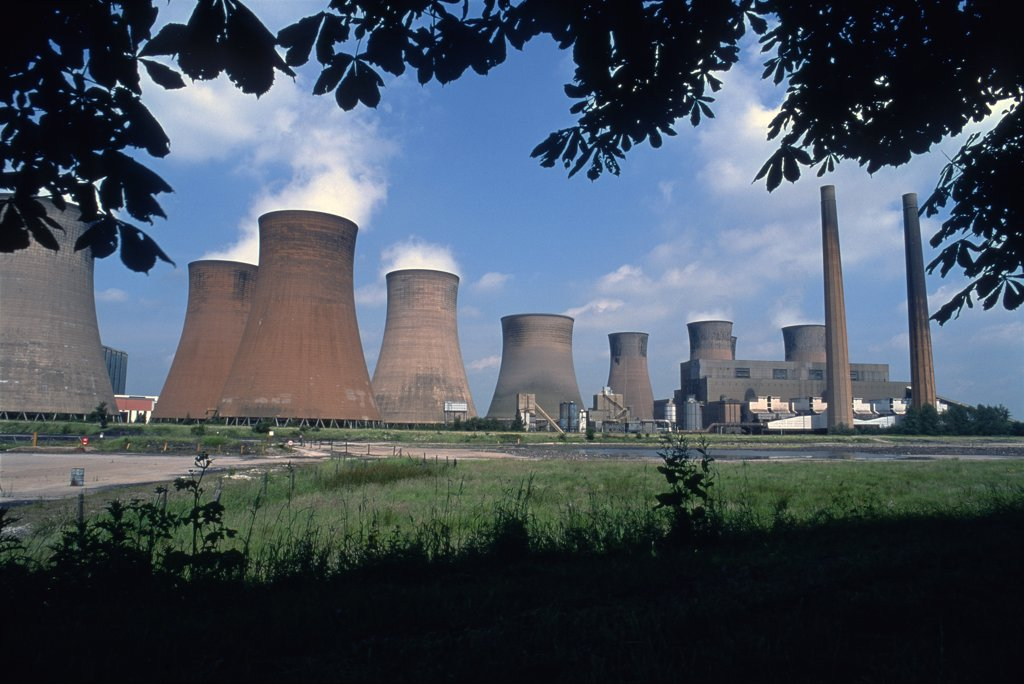 Stock Photo: 1899-34203 Rugeley coal fired power station Staffordshire UK.