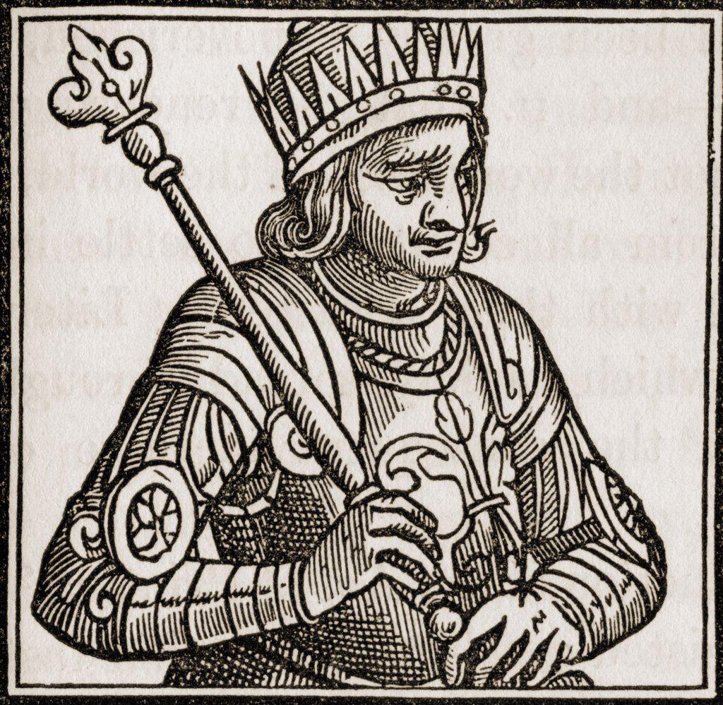Edward IV 1442-1483. King of England 1461-70 and 1471-83 : Stock Photo