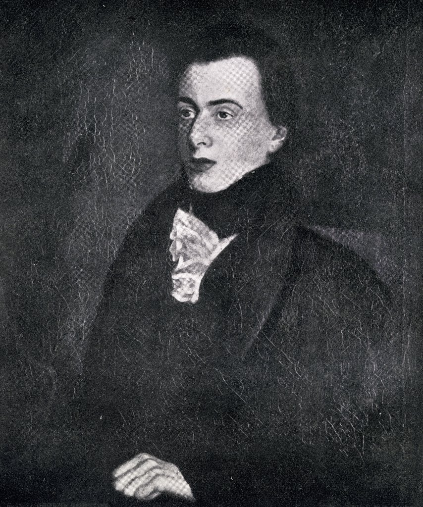 George Borrow,1803-1881. English writer and traveller. From the painting by John Borrow  : Stock Photo