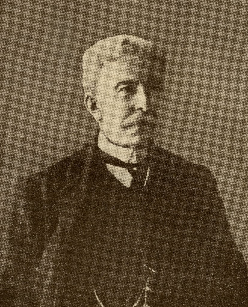 "Stock Photo: 1899-39563 Antonio Fogazzaro, 1842-1911. Italian novelist. From the book """"The Masterpiece Library of Short Stories"""" volume 2 Italian."