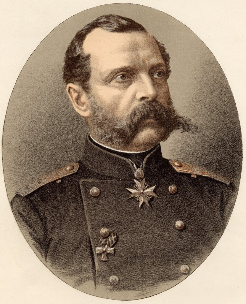 Stock Photo: 1899-41128 Alexander II of Russia, 1818-1881. Czar of Russia.