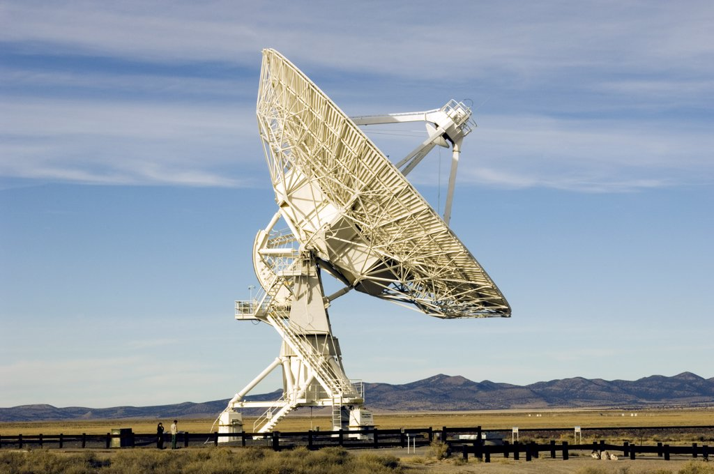 Very Large Array National Radio Astronomy Observatory, New Mexico : Stock Photo