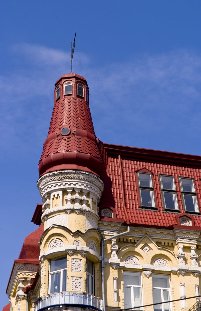 Stock Photo: 1899-52634 Classic Architecture In Kiev, Ukraine.
