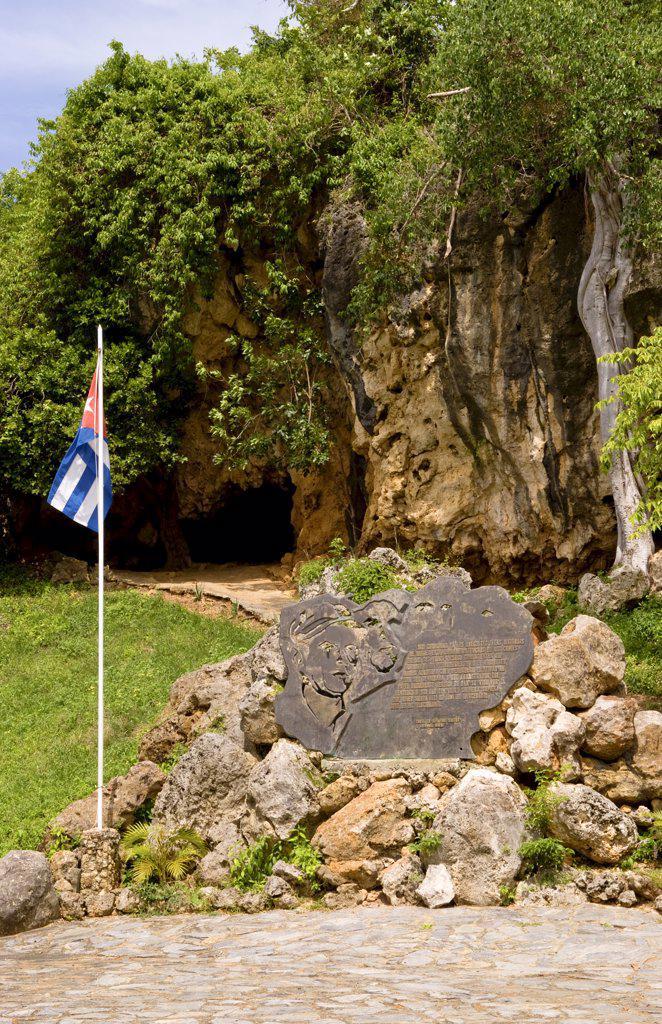 Stock Photo: 1899-53356 Gravesite Of Alberto Del Gado Gado, A Spy For Cuba. His Grave And Plaque