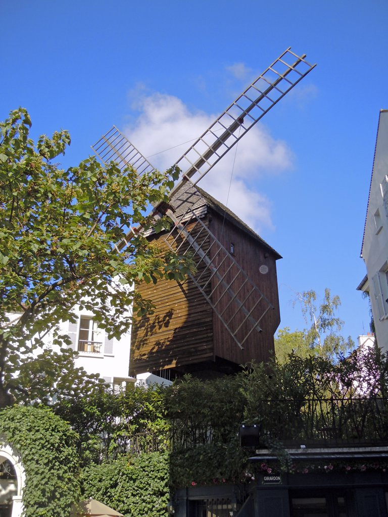 Stock Photo: 1899-56518 Windmill, Paris, France