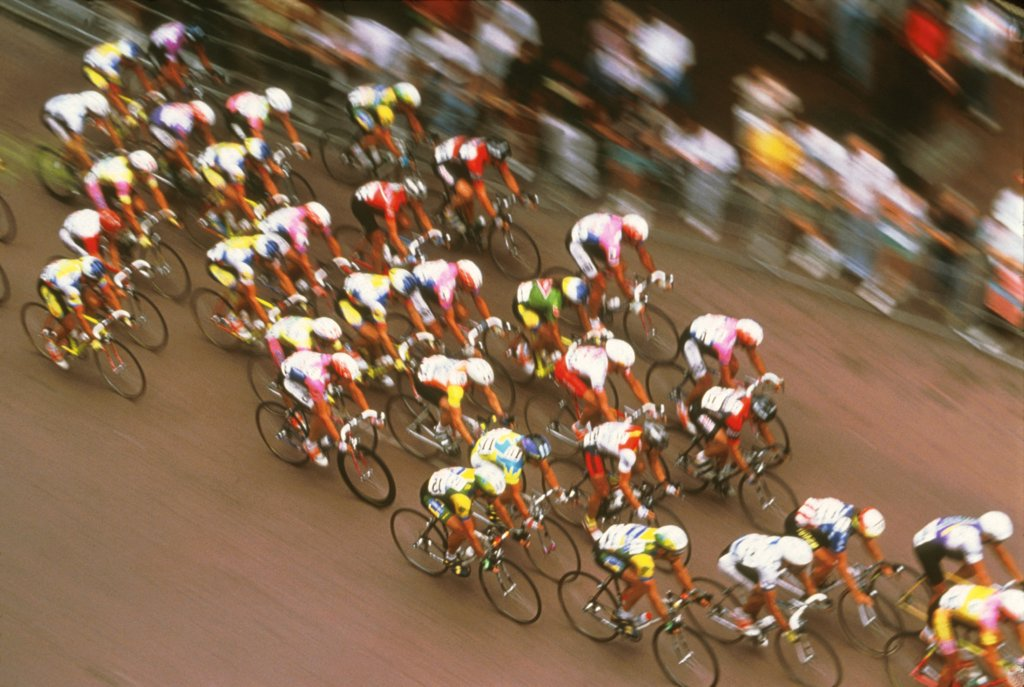 Stock Photo: 1899-57023 Sports/ Biking/ Racing