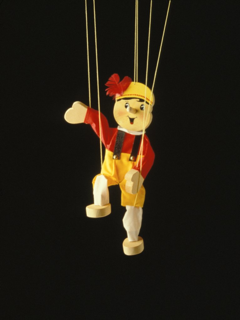 Stock Photo: 1899-58419 Boy Marionette