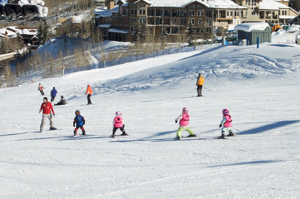 Colorado, Snowmass. Ski Resort : Stock Photo