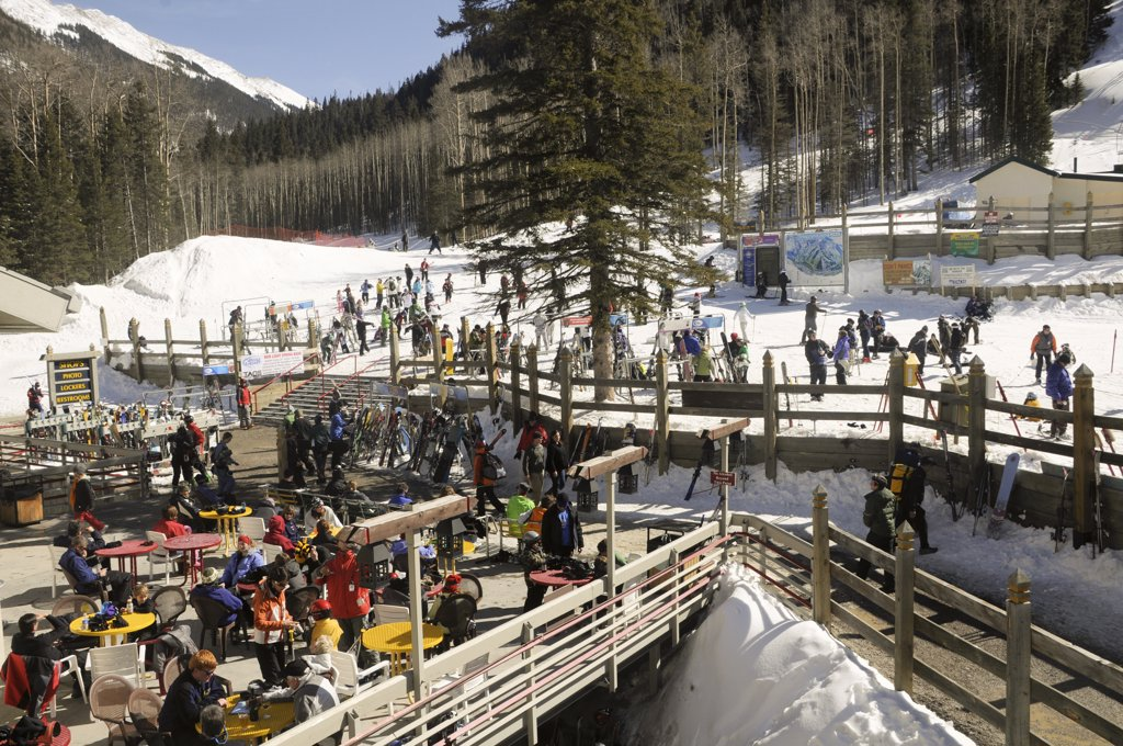 Stock Photo: 1899-59194 Ski Area, Taos, New Mexico