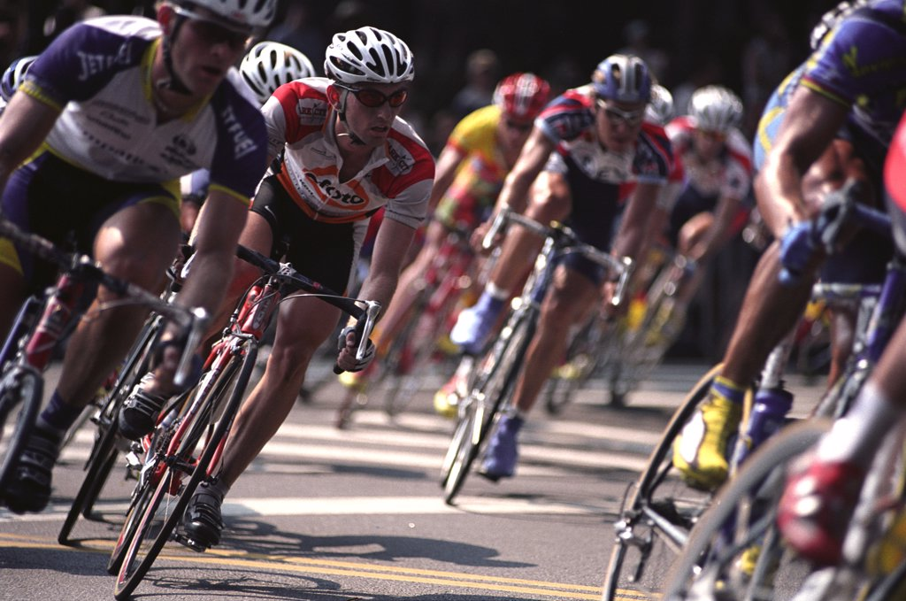 Stock Photo: 1899-63393 Bicycle Race.