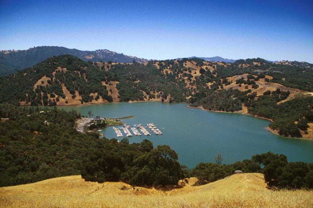 California, Sonoma County, Lake Sonoma : Stock Photo