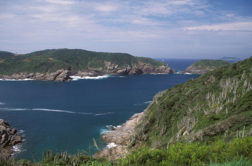 Brazil, Rio De Janeiro State, Landscape : Stock Photo