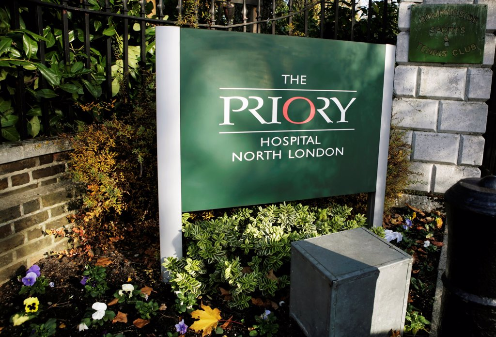 UK, London, Southgate, The Priory Hospital : Stock Photo