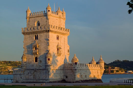 Stock Photo: 1901-1034 Belem Tower Lisbon Portugal
