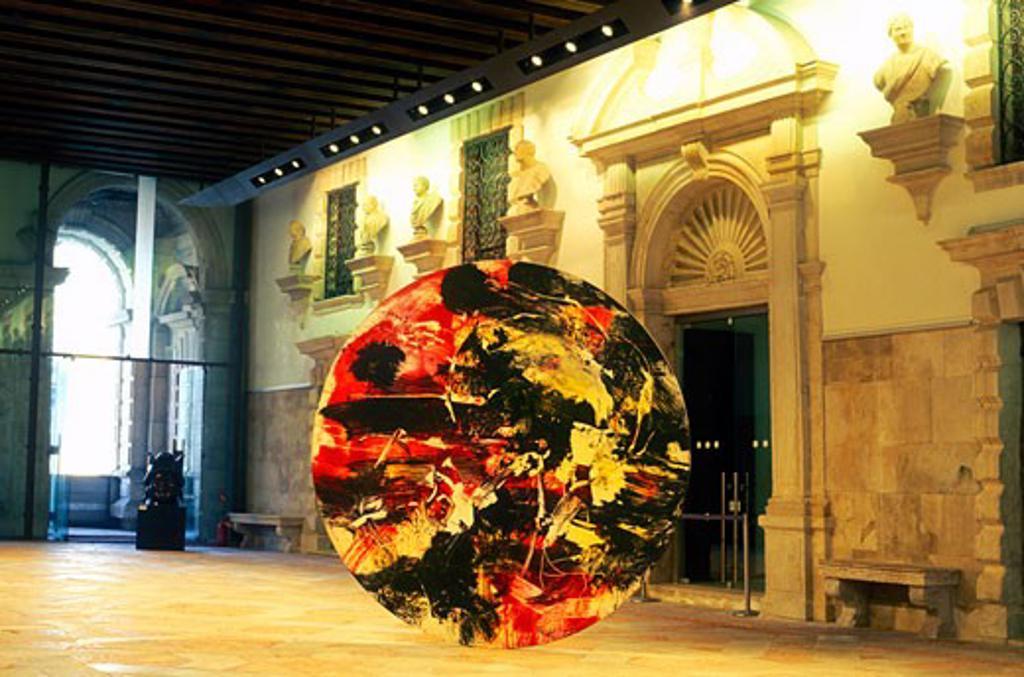 Stock Photo: 1902-1477 Italy Venice Ca Pesaro Museum of Modern Art