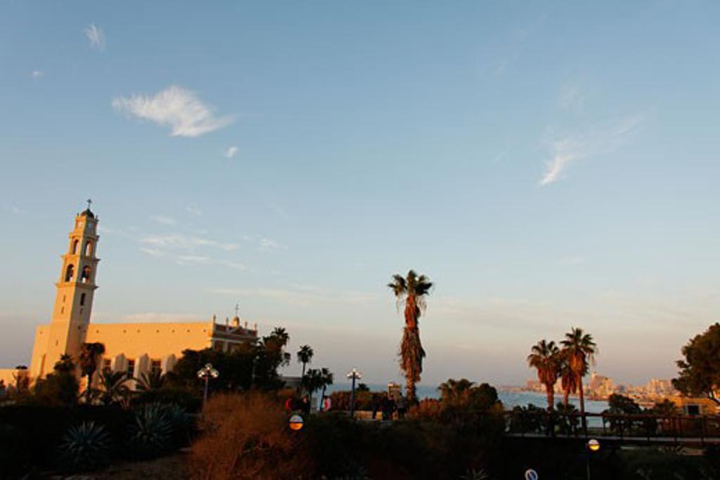 Gan Hapisga in Jaffa : Stock Photo