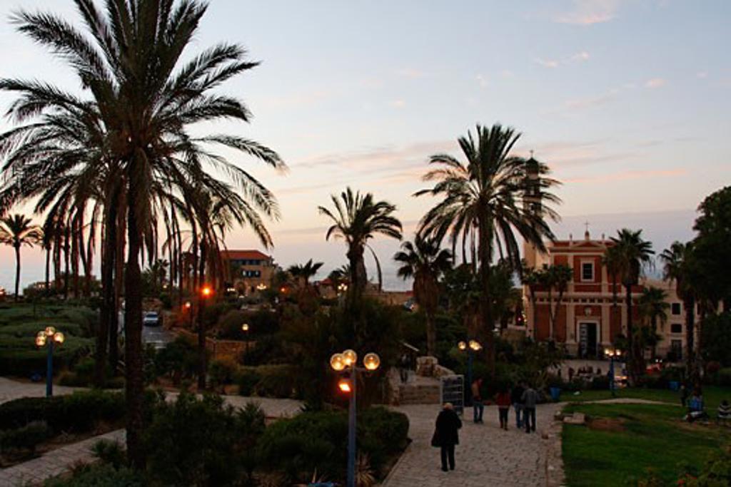 Stock Photo: 1904-2002 Gan Hapisga in Jaffa