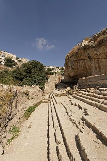 Stock Photo: 1904-2049 City of David Jerusalem