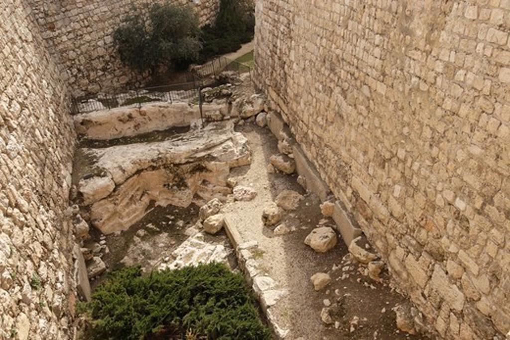 Stock Photo: 1904-2253 Tower of David museum Jerusalem