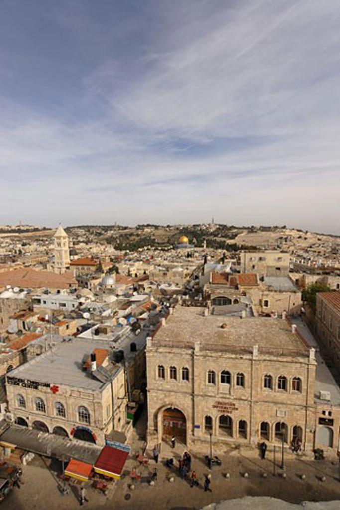 Old city Jerusalem : Stock Photo