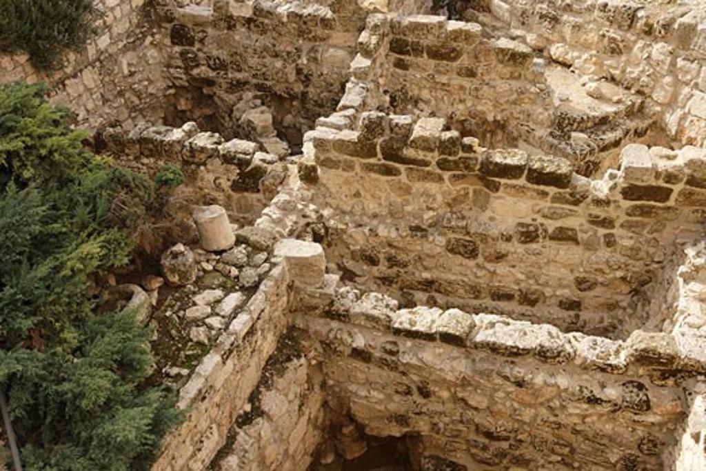 Tower of David museum Jerusalem : Stock Photo