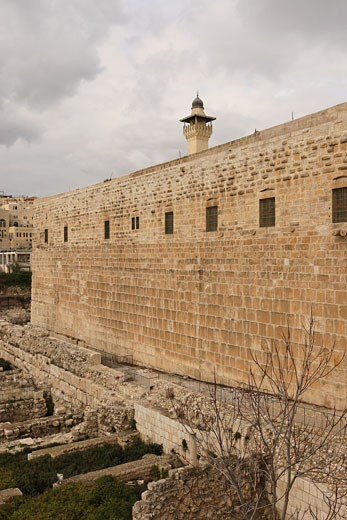 Stock Photo: 1904-2309 Jerusalem Archaeological Park