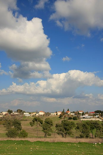 Stock Photo: 1904-4781 A view of Ein Haemek from road 672