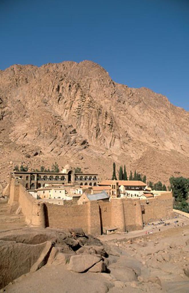 Stock Photo: 1904-7225 The Monastery of St Catherine
