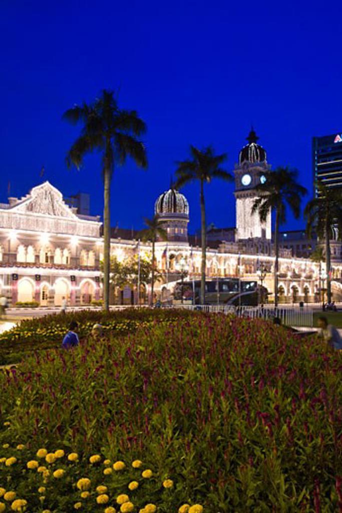 Dataran Merdeka or Independence Square  capital city of Kuala Lumpur  Malaysia Peninsula  Malaysia  SE Asia : Stock Photo