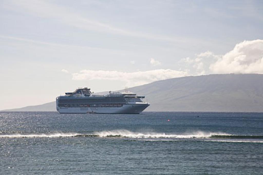 Lahaina  Maui  Hawaii  USA : Stock Photo