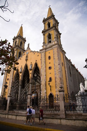 Cathedral of Immaculate Conception  built in 1846  Historic District  Old Mazatlan  Sinaloa State  Mexico : Stock Photo